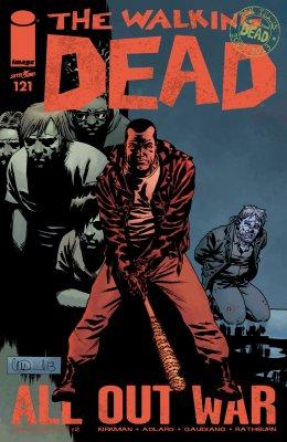 Серия комиксов Ходячие мертвецы №121
