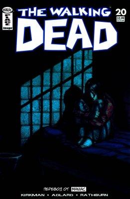 Серия комиксов Ходячие мертвецы №20