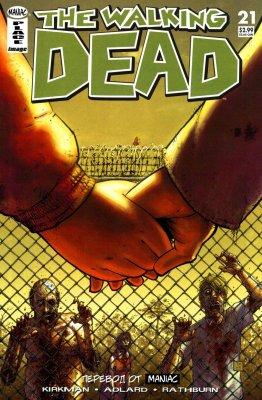 Серия комиксов Ходячие мертвецы №21