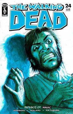 Серия комиксов Ходячие мертвецы №24