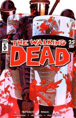 Серия комиксов Ходячие мертвецы №25