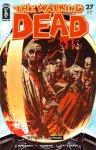 Обложка комикса Ходячие мертвецы №27