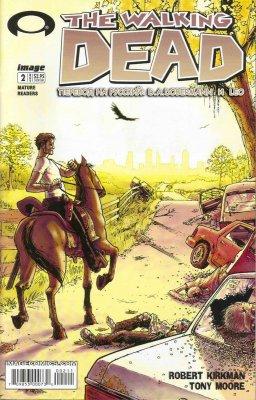 Серия комиксов Ходячие мертвецы №2