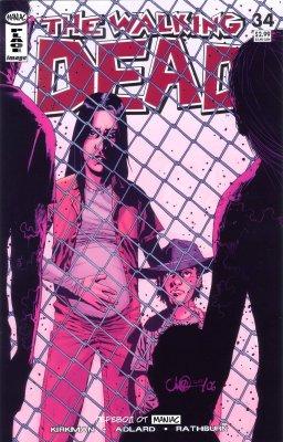 Серия комиксов Ходячие мертвецы №34