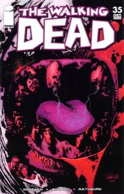Серия комиксов Ходячие мертвецы №35