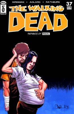 Серия комиксов Ходячие мертвецы №37