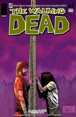 Серия комиксов Ходячие мертвецы №41