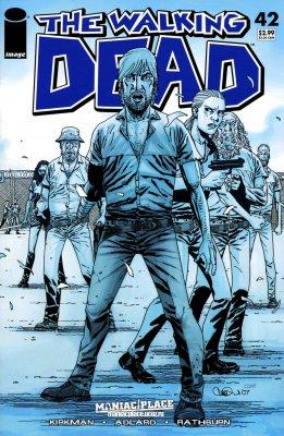 Серия комиксов Ходячие мертвецы №42