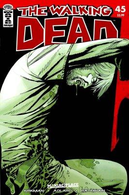 Серия комиксов Ходячие мертвецы №45