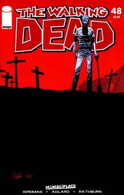 Серия комиксов Ходячие мертвецы №48