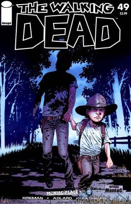 Серия комиксов Ходячие мертвецы №49