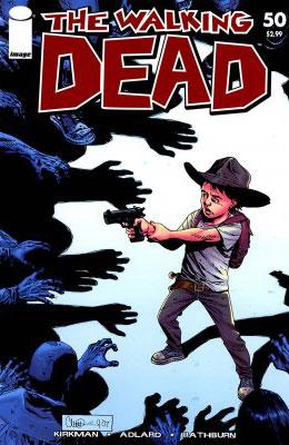 Серия комиксов Ходячие мертвецы №50