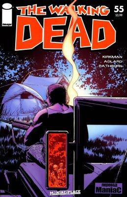 Серия комиксов Ходячие мертвецы №55