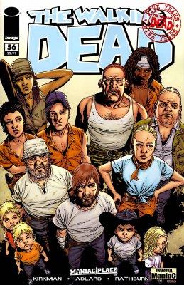 Серия комиксов Ходячие мертвецы №56