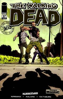 Серия комиксов Ходячие мертвецы №57