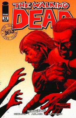 Серия комиксов Ходячие мертвецы №58