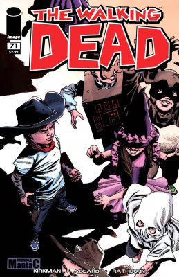 Серия комиксов Ходячие мертвецы №71