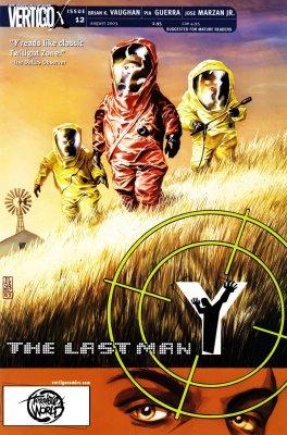 Серия комиксов Y: Последний мужчина №12