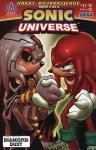Обложка комикса Вселенная Соника №11
