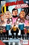 Обложка комикса Звездный Путь - Легион Супергероев №1