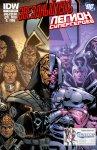 Обложка комикса Звездный Путь - Легион Супергероев №3