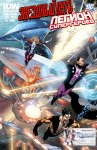 Обложка комикса Звездный Путь - Легион Супергероев №4