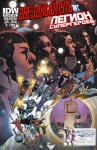 Обложка комикса Звездный Путь - Легион Супергероев №6