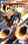 Обложка комикса Супергерл №1