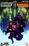 Обложка комикса Супермен и Бэтмен Против Чужих и Хищников №2