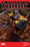 Обложка комикса Танос Ежегодник