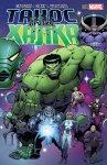 Обложка комикса Танос против Халка №2