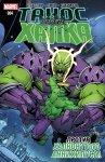 Обложка комикса Танос против Халка №4