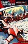 Обложка комикса Трансформеры: Официальная Предыстория Фильма №2