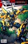 Обложка комикса Трансформеры: Официальная Предыстория Фильма №3