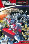 Обложка комикса Трансформеры: Официальная Предыстория Фильма №4