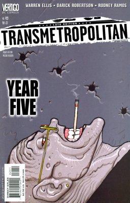 Серия комиксов Трансметрополитан №49