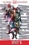 Обложка комикса Поразительные Мстители №1
