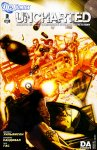 Обложка комикса Uncharted №3