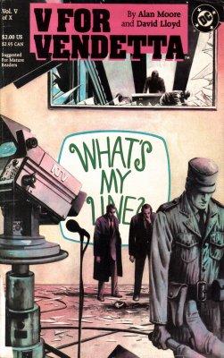 Серия комиксов V — значит вендетта №5