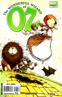Серия комиксов Удивительный волшебник из страны Оз