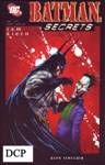 Обложка комикса Бэтмен: Секреты №1