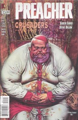 Серия комиксов Проповедник №21