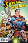 Обложка комикса Супермен и Багз Банни №1