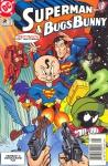 Обложка комикса Супермен и Багз Банни №2