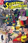 Обложка комикса Супермен и Багз Банни №4