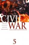 Обложка комикса Гражданская война №5