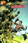 Обложка комикса Армия тьмы против Реаниматора №1
