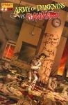 Обложка комикса Армия тьмы против Реаниматора №2