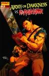 Обложка комикса Армия тьмы против Реаниматора №3