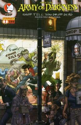 Серия комиксов Армия Тьмы. Покупай пока не сдохнешь